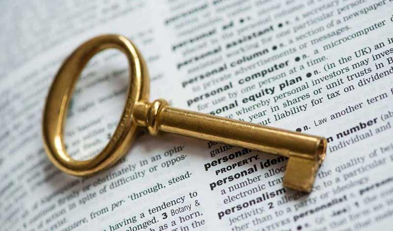 Keyword for SEO and search ranking online marketing