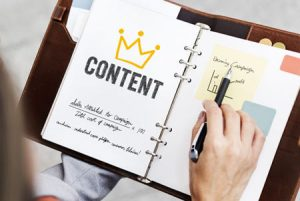 Content is king in 2020 for seo