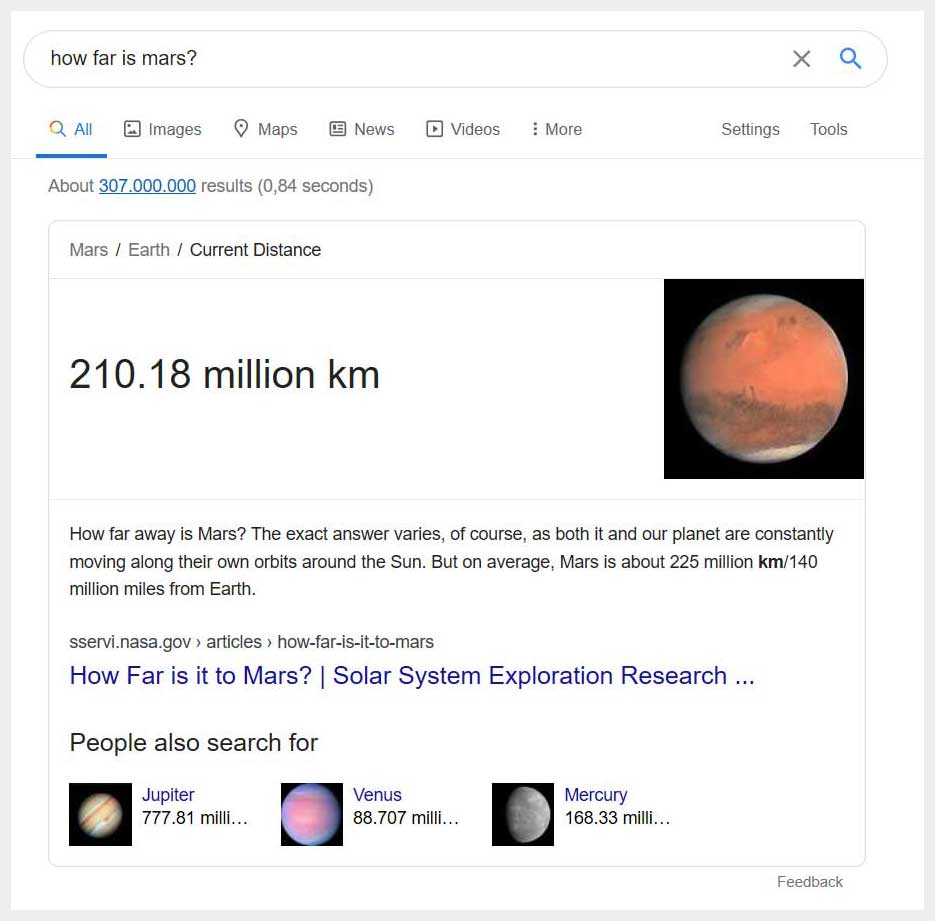 What is a Google Featured Snippet?